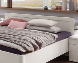 Komfort-Doppelbett Cavallinos Kopfteil zum Anlehnen