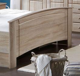 Komfort-Doppelbett Martano mit praktischem Fußteil
