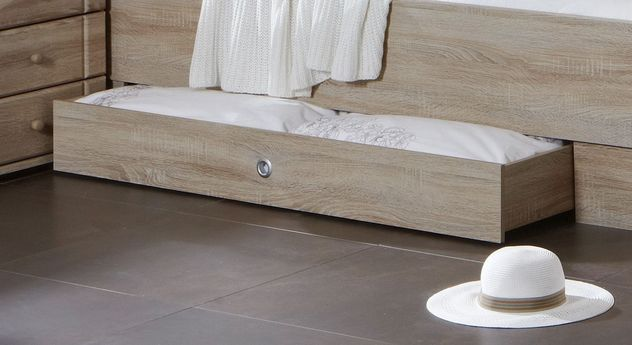 Komfort-Doppelbett Martano wahlweise mit Schubkasten