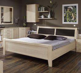 Komfort-Doppelbett Rapino in hellem Dekor
