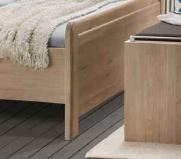 Komfort-Doppelbett Telford mit niedrigem Fußbereich