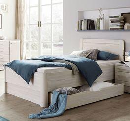 Komfort-Einzelbett Apolda im geradlinigem Design