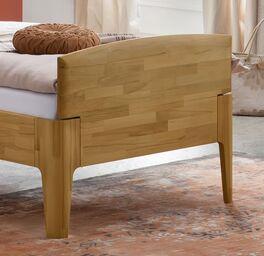 Komfort-Einzelbett Brunon mit abgerundeten Kanten