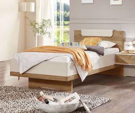 Komfort-Einzelbett Dolavon mit Dekor-bettrahmen