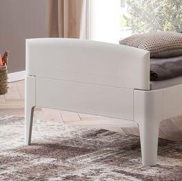 Komfort-Einzelbett Karol mit praktischem Fußteil