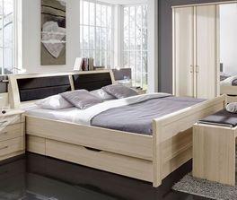 Komfort-Schubkasten-Bett Rapino mit komfortabler Einstiegshöhe