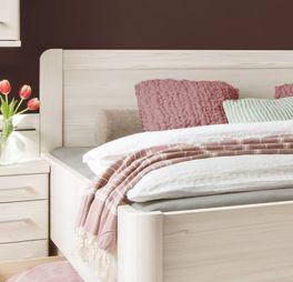 Komfort-Schubkastenbett Pegau inklusive Kopfteil
