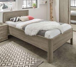Preiswertes Komfort-Seniorenbett Troia mit Dekor-Oberfläche