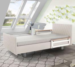 Komfortbett mit Pflegebett-Funktion Borkum mit flexiblem Lattenrost