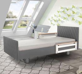 Komfortbett mit Pflegebett-Funktion Borkum inklusive Fußteil