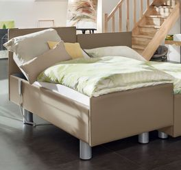 Komfortbett mit Pflegebett-Funktion Fulda bis 200 kg belastbar