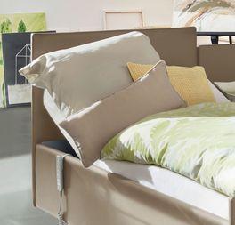 Komfortbett mit Pflegebett-Funktion Fulda mit 90 cm hohem Kopfteil