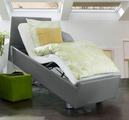 Komfortbett mit Pflegebett-Funktion Fulda mit leisem Motor