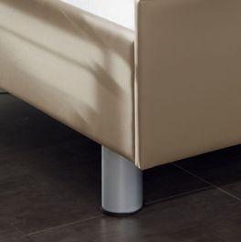 Komfortbett mit Pflegebett-Funktion Fulda mit stabilen Metallfüßen