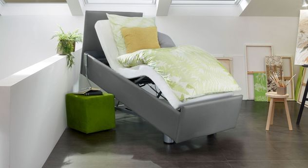 Komfortbett mit Pflegebett-Funktion Fulda mit komfortabler Sesselposition