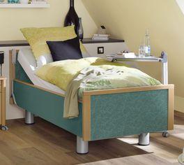 Gemütliches Komfortbett mit Pflegebett-Funktion Mainau für Zuhause