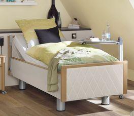 Komfortbett mit Pflegebett-Funktion Rügen in modernem Design