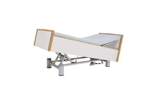 Stufenlos verstellbares Komfortbett mit Pflegebett-Funktion Rügen