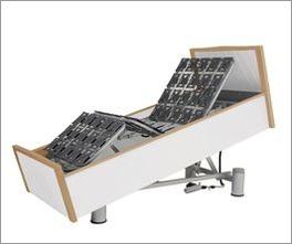 Komfortbett mit Pflegebett-Funktion Rügen mit praktischer Verstellung in Sitzposition