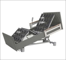 Komfortbett mit Pflegebett-Funktion mit bequemer Sessel-Sitzposition