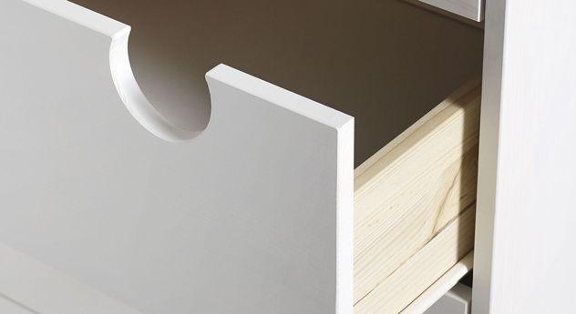 Kommode Lenola mit grifflosen Schubladen