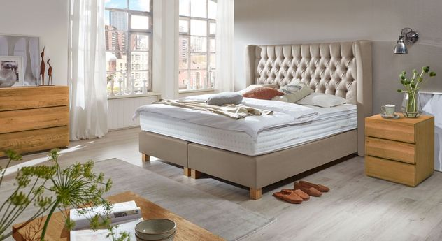 Kommode Natura mit passender Schlafzimmer-Einrichtung