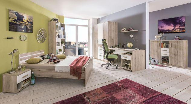 Komplett-Jugendzimmer Tropea mit preiswertem Zubehör