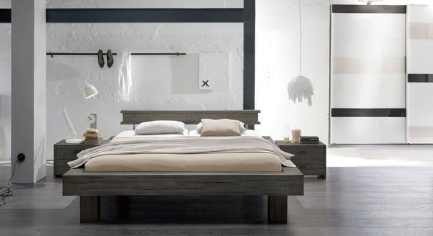 Komplett-Schlafzimmer Buena mit modernem Schwebetüren-Kleiderschrank