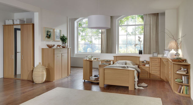 Komplett-Schlafzimmer Dabola mit Zubehör