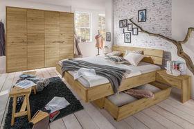 Komplett-Schlafzimmer Kärnten aus Luxus-Massivholz