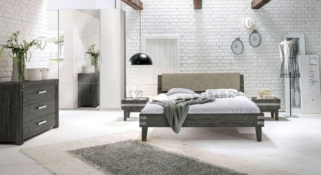 Komplett-Schlafzimmer Paraiso im Industrial-Look