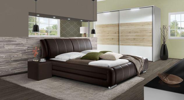 Komplett-Schlafzimmer Petersfield mit modernen Möbel