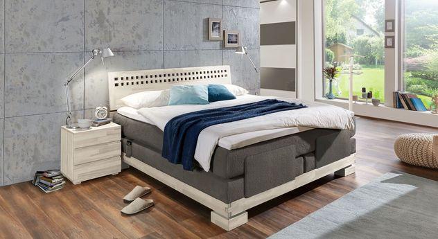 Komplett-Schlafzimmer Piacenza mit Kleiderschrank Baria
