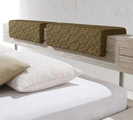 Kopfteilpolster Sizilien Struktur-Velours für mehr Komfort