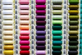 Kunstfasern Polyester Garn