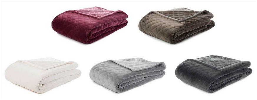 Kunstfasern in Polyester-Wohndecken