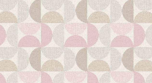 Kuscheldecke Sanduhr mit einfachem geometrischem Muster