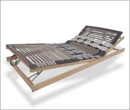 Lattenrost orthowell kombiflex mit Federleisten und Tellermodulen