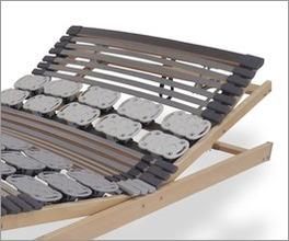 Stabiler Lattenrost orthowell kombiflex mit Mittelzonen-Verstärkung