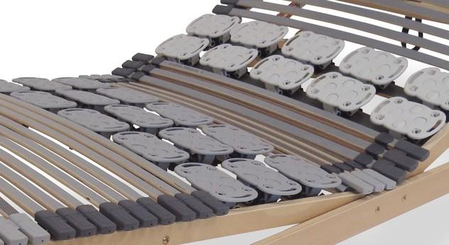 Lattenrost orthowell kombiflex mit komfortablen Tellermodulen