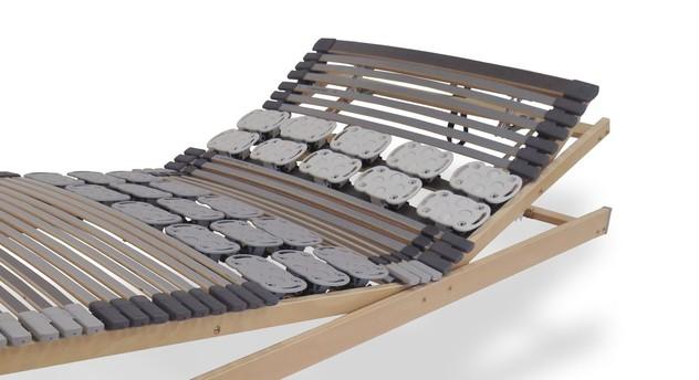 Lattenrost orthowell kombiflex mit verstellbarem Kopf- und Fußteil