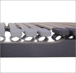 Lattenrost orthowell ultraflex mit Kautschuk-Kappen