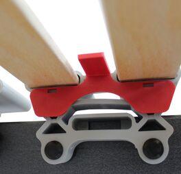 Härtestecker für die langlebigen Lattenroste orthowell ultraflex XL und XXL