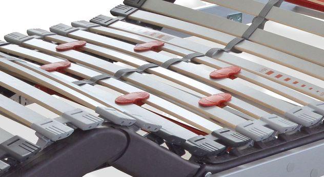 Lattenrost youSleep Motor slim mit stufenloser Härteregulierung