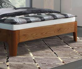 Moderne Liege Lugo mit abgerundeten Bettbeinen