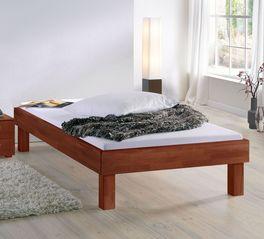 Preiswerte Echtholzliege Madrid Komfort