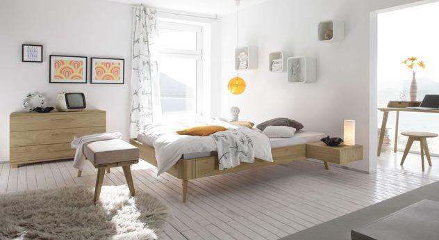 Liege Rakaia mit passenden Möbeln fürs Schlafzimmer