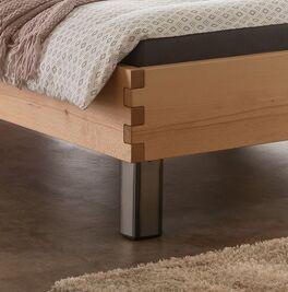 Liege Valmar stabiler Bettrahmen mit Stahl-Füßen