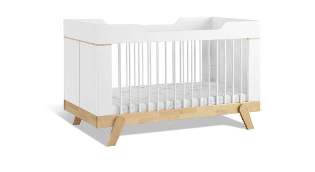 LIFETIME Babybett Monina mit höhenverstellbarem Lattenrost