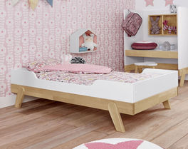 LIFETIME Babybett Monina zum Juniorbett umfunktioniert